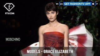 Grace Elizabeth Models Spring/Summer 2018 | FashionTV | FTV