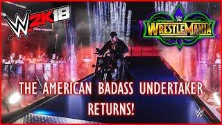 Wrestlemania 34: The American Badass Undertaker Entrance
