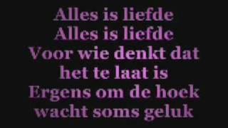 Bløf - Alles is liefde Lyrics