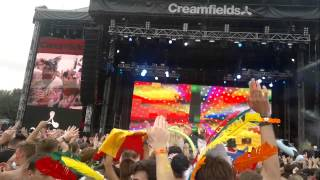 Dimitri Vegas & Like Mike & Steve Angello - Sentido @ Creamfields UK 2013