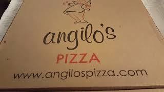 Lrg Angilo's sausage pizza, xtra cheese, xtra sauce Birthday pizza