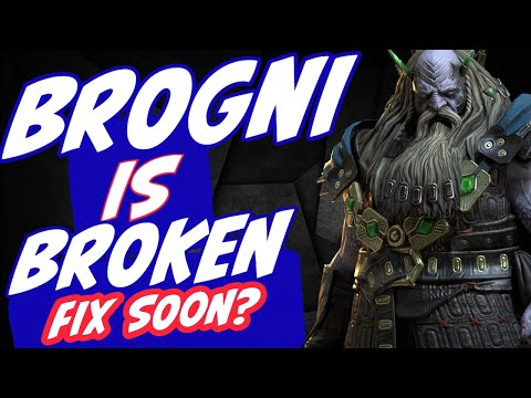 Brogni is reflecting stuns at everyone! Fix incoming Raid Shadow Legends