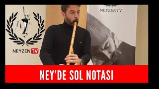 Ney'de Sol notası