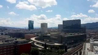 Zürich West Skyline / Switzerland/ /06.2016 /Samsung Galaxy s7 4k