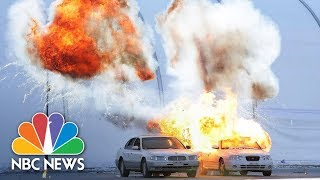 Explosions And Gunfire Rock Winter Olympic Venue During Security Drill | NBC News