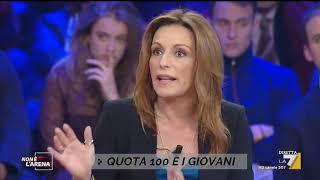 """Quota 100, Lucia Borgonzoni: """"La terranno ma un pò modificata"""""""