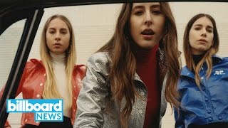 Haim Is Back With Another New Song: 'Want You Back' | Billboard News