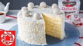 Торт Рафаэлло - Простой рецепт. С каждым разом мне он нравится еще Больше 😍