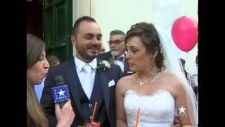 """Biancavilla - Alfio e Anna, un matrimonio con una """"carrozza"""" particolare"""