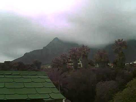 Timelapse Video – Table Mountain – 09/09/2010