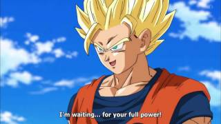 SSJ2 Goku vs Black Goku - English Sub