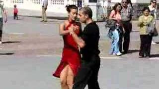 Dance in Madrid Lady in red Madrid Spain