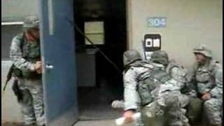 American soldiers cleaning (funny)