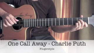 One Call Away - Charlie Puth Fingerstyle Guitar Cover By Toeyguitaree (TAB)