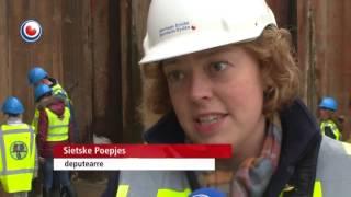 Earste wetter stream oer Margarethe Zelle-akwadukt
