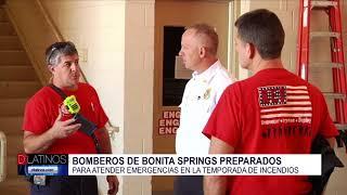 ¿Cómo se prepara el departamento de bomberos de Bonita Springs para la temporada de incendios?