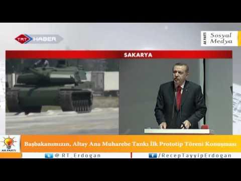 Başbakanımızın, Altay Ana Muharebe Tankı İlk Prototip Töreni Konuşması