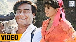 Bollywood Flashback: Ajay Devgn And Twinkle Khanna's Jaan Movie Unseen Video | Lehren Diaries