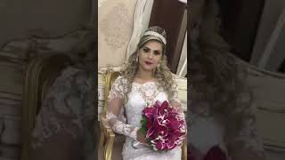 Noiva cantando Aleluia