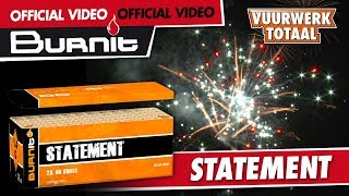 Statement - Burn-It vuurwerk - Vuurwerktotaal [OFFICIAL VIDEO]