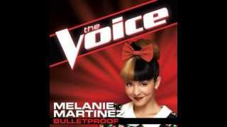 "Melanie Martinez: ""Bulletproof"" - The Voice (Studio Version)"