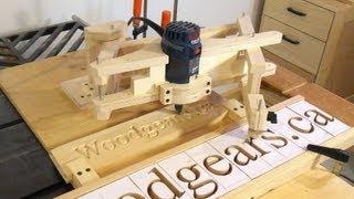 3d letter carving