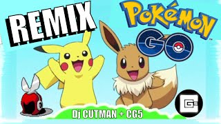 Pokemon Go Remix - IT'S TIME TO GO! - Dj CUTMAN ft. CG5 - Pokemon GIF Music Video, GameChops Dubstep