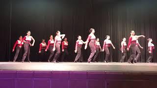 """Rivera H.S. Dance Recital """"Mi gente"""" remix 4/12/2018"""