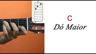 Dó Maior - Dicionário de acordes para violão