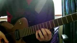 Phil Collins & Phil Bailey - Easy Lover guitar solo cover