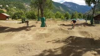 Val d'Allos : pump track