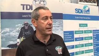 Scubaverse talks to TDI/SDI Instructor Trainer Mark Powell at DIVE 2014