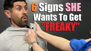 6 Secret Signs A Woman Wants To Sleep with YOU! (100% Accurate) width=