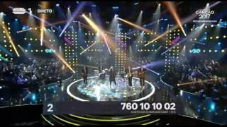 Lena d'Água - Nunca Me Fui Embora - 2ª Semifinal | Festival da Canção