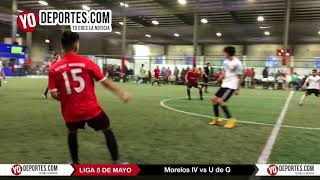Morelos IV vs U de G Liga 5 de Mayo