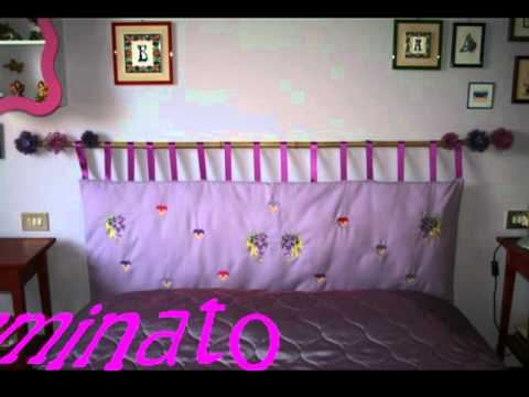 Come creare una testiera da letto con cuscini fai da te for Testiera letto cuscini