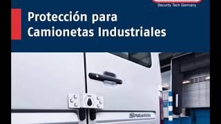 Porta Candado para la Seguridad de Camionetas de Carga y Contenedores