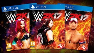 WWE 2K17: 15 MORE EXCLUSIVE ALTERNATE DOWNLOADABLE COVERS!