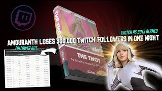 Amouranth loses 300,000 followers overnight