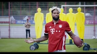 Odell Beckham Jr. is Kickin' it with Bayern Munich | OBJ Going Global | NFL