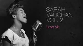 Sarah vaughan official video sarah vaughan love me stopboris Choice Image