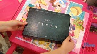 Cofanetto Pixar in Dvd e Blu-ray - Collezione completa 19 dischi - Natale 2016