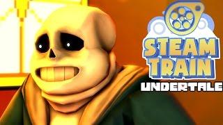 "[SFM] Steam Train Animated-Undertale ""Bone Jokes"""