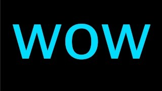 Wow ! Cartoon Sound Effect | HQ