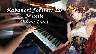 【PIANO DUET】Kabaneri of the Iron Fortress ED - Ninelie Feat. Toriko Piano