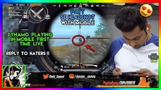 DYNAMO Playing on Mobile LIVE || 1st Time on Youtube Live || Highlight #102