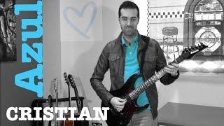 Azul (Cristian Castro) cover guitarra por David Calabrés