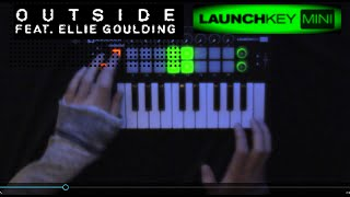 Ellie Goulding-Outside (((Launchkey Mini cover)))