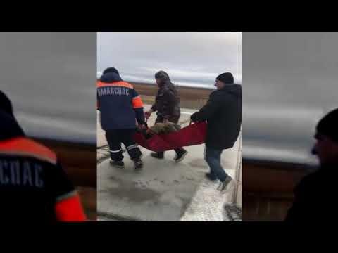 Поисково-спасательные работы по эвакуации пострадавшего с фактории Лаборовая