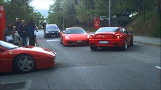 Ferrari Traffic Jam & Ferrari 430 sound in the Tunnel